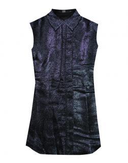 Markus Lupfer Blue Glitter Shirt
