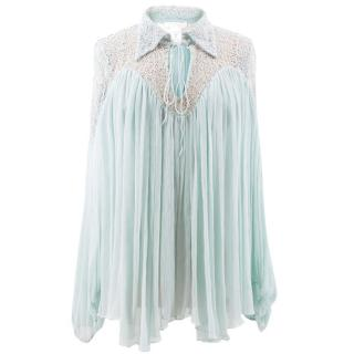 Chloe Mint Blouse