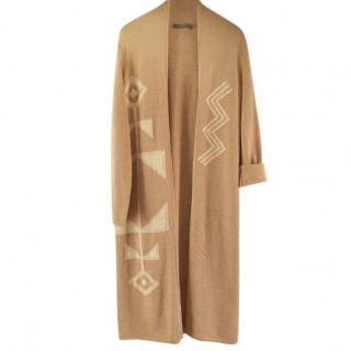Lauren Ralph Lauren beige cotton cardigan/coat