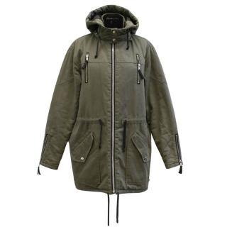 Elizabeth and James Green Parka