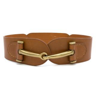 Ralph Lauren Equestrian- Bit Vachetta Belt