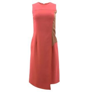 Reed Krakoff Coral Sleeveless Dress