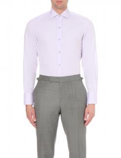 TOM FORD slim-fit cotton-poplin shirt