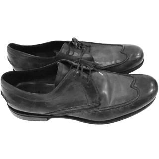 Bottega Veneta  black mens brogues
