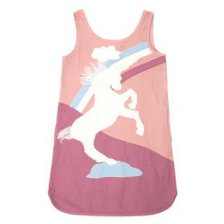 Stella McCartney Kids Pink Unicorn Dress