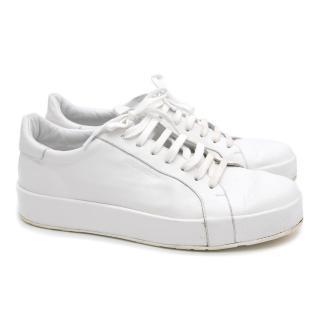 Jil Sander White Sneakers
