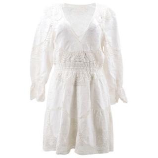 Chloe White Lace Dress