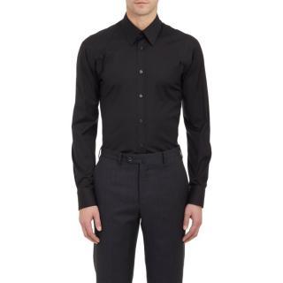 ALEXANDER MCQUEEN Harness cotton-blend poplin shirt