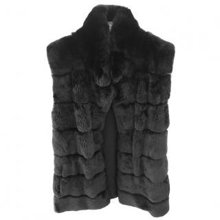 Rex Rabbit Fur coat, Harrods brand