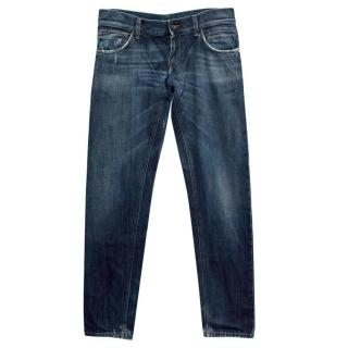 Dolce and Gabbana Straight Leg Jeans