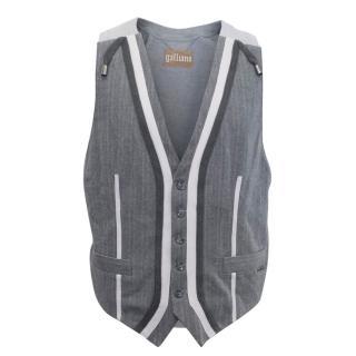 John Galliano Sweater Vest Jacket