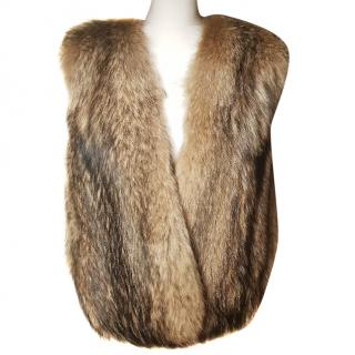 Michael Michael Kors coyote fur vest