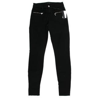 J Brand Miranda Black Skinny Jeans