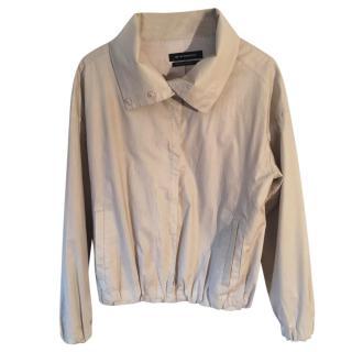 CLUB MONACO 100% cotton beige waterproof jacket