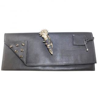 Maison du Posh One Another - Studded Ring Clutch