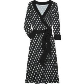 DVF taurus wrap dress