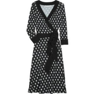 DVF taurus wrap dress