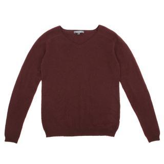 Bonpoint Kids Burgundy Cashmere Sweater