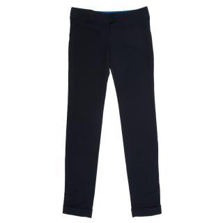 Stella McCartney Navy Straight Trousers
