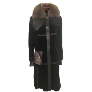 Manoel Cova Sheared Mink Coat