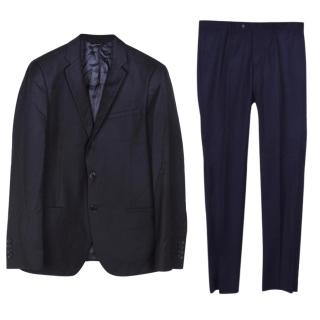 Dolce & Gabbana navy blue suit