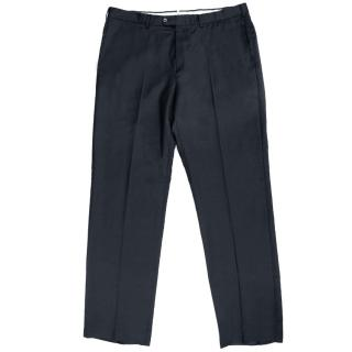 Ermenegildo Zegna Navy Wool Trousers