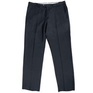 Ermenegildo Zegna Navy Wool Trousers