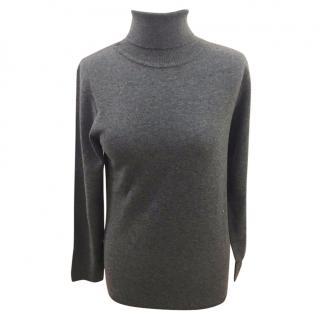 Max Mara roll neck jumper, 100% virgin Italian wool, Size L