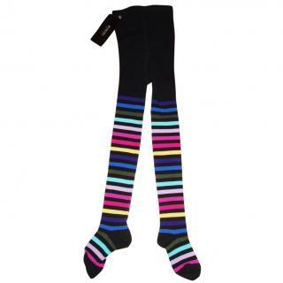 SONIA RYKIEL Enfants striped girls tights