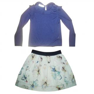 CHRISTIAN DIOR 2 piece girls set