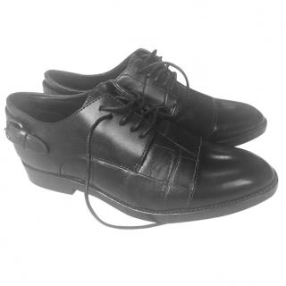 Coach Leather Oxford Shoes