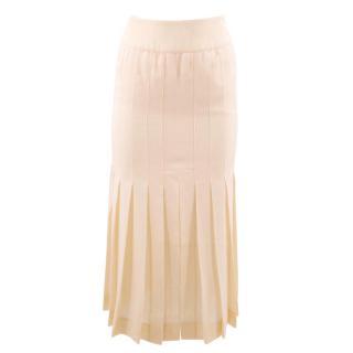 Chanel Cream Skirt