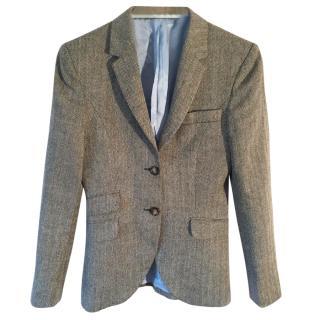 Hackett Wool Houndstooth blazer