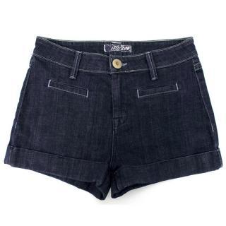 Hudson Dark Wash Denim Shorts
