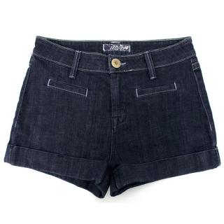 Hudson Dark Wash Denim Shorts