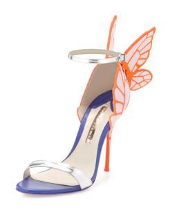 Sophia Webster Chiara pink high sandal