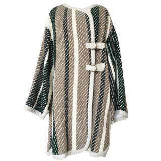 See by Chloe striped coat