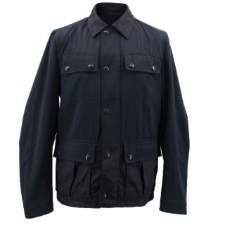 Givenchy Navy Coat