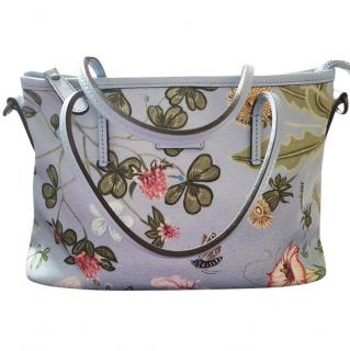 Gucci Floral Flora Knight Zip Top Crossbody