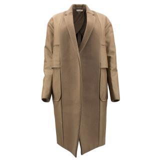 Celine Brown Wool Coat