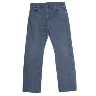 Burberry Blue Wash Bootcut Jeans