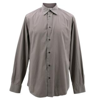 Hermes Grey Cotton Shirt