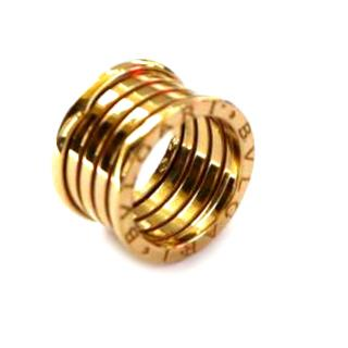 Bulgari B Zero 1 four band 18ct yellow gold ring