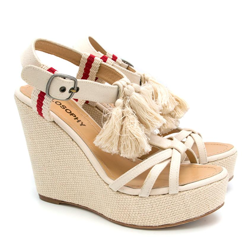Philosophy Cream Wedges