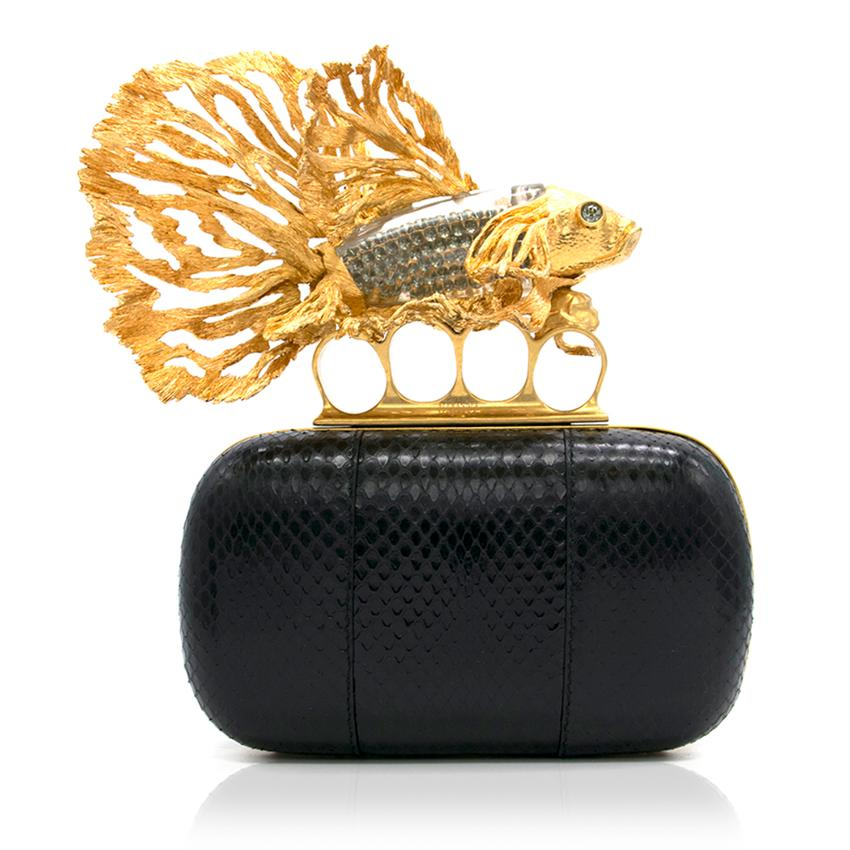 Alexander McQueen Tropical Fish Clutch