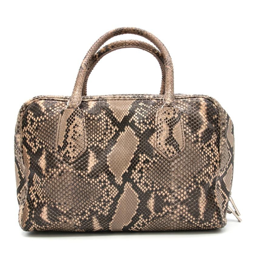 1bbe3188b8ba Prada Python Bauletto Bag. 29. 12345678910