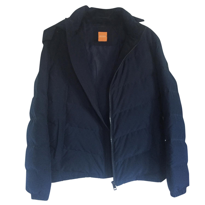 9476f2d6aa5a Hugo Boss Down Filled Navy Hooded Jacket
