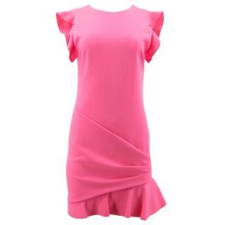 Emilio Pucci Pink Ruffle Dress