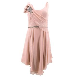 Jenny Packham Light Silk Pink Dress