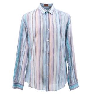 Missoni Multi-coloured Striped Shirt